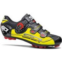 Sidi Eagle 7 SR MTB Shoes - Black/Yellow Fluo/Black - EU 43.5 - Black/Yellow Fluo/Black