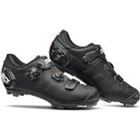 Sidi Dragon 5 SRS Matt MTB Shoes - Matt Black - EU 42.5 - Matt Black