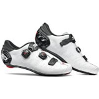 Sidi Ergo 5 Road Shoes - White/Black - EU 45 - White/Black