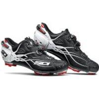 Sidi Tiger Carbon MTB Shoes - Matt Black/Gloss White - EU 42 - Matt Black/Gloss White