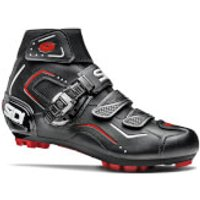 Sidi Breeze Rain MTB Shoes - Black - EU 39 - Black