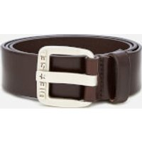 Diesel Men's B-Star Leather Belt - Brown - W40/100cm