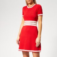 Emporio Armani Women's Sporty Dress - Red - IT 44 - Red