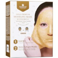SHANGPREE Gold Premium Modeling Mask with Bowl and Spatula 50ml