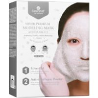SHANGPREE Silver Premium Modeling Mask with Bowl and Spatula 50ml