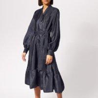Stine-Goya-Womens-Niki-Dress-Midnight-M-Blue