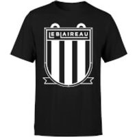 Le Blaireau Men's T-Shirt - L - Black