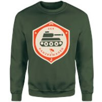 Der Panzerwagen Sweatshirt - XL - Forest Green