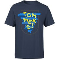 Tommeke Men's T-Shirt - L - Navy
