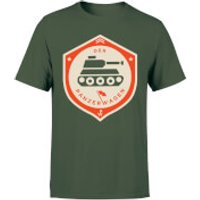 Der Panzerwagen Men's T-Shirt - L - Forest Green