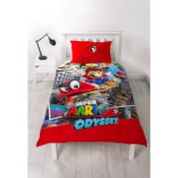 Mario Cappy Duvet Set - Single - Computer Games Gifts