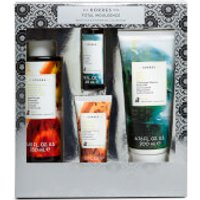 KORRES Total Indulgence Bergamot Pear and Guava Body Milk and Shower Gel Collection (Worth PS24.00)