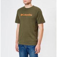 Columbia Men's CSC Basic Logo T-Shirt - Peatmoss - S - Green