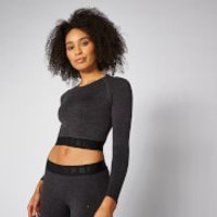 Myprotein Inspire Seamless Crop Top - Slate - XL