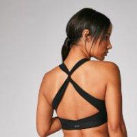 Myprotein Power Cross Back Sports Bra - Black - XL
