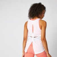 MP Bliss Burnout Vest - White - XS