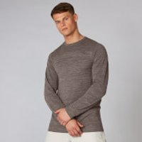 Aero Knit Long-Sleeve T-Shirt - Driftwood Marl - XS