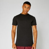 Image of Myprotein Aero-Knitted T-Shirt - Black - L