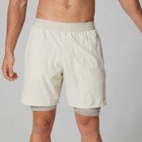 Power Shorts 7 Inch - Chalk Marl - S