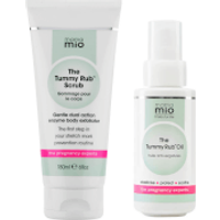 Mama Mio Stretch Mark Prevention Duo (Scrub + Oil) (Worth PS45)