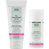Mama Mio Stretch Mark Minimising Duo (Scrub + Minimising Cream)