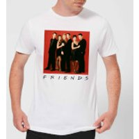 Friends Character Pose Men's T-Shirt - White - L - White