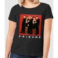 Friends Character Pose Women's T-Shirt - Black - XXL - Black
