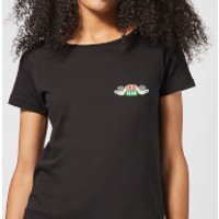 Friends Central Perk Coffee Cups Women's T-Shirt - Black - XL - Black