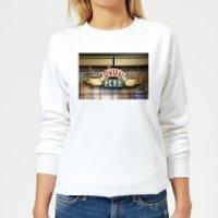Friends Central Perk Coffee Sign Women's Sweatshirt - White - XS - White
