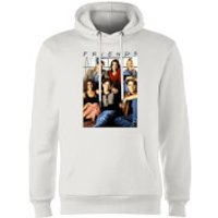 Friends Vintage Character Shot Hoodie - White - XXL - White