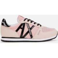 Armani Exchange Ax Logo Runner Style Trainers - Under The Skin