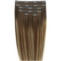 Beauty Works Double Hair Set 18 Inch Clip-in Hair Extensions - #mocha Melt