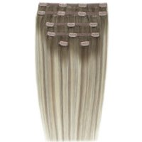 Beauty Works Double Hair Set 18 Inch Clip-in Hair Extensions - #scandinavian Blonde