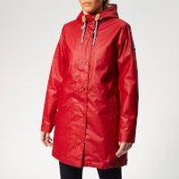 Joules Womens Rainaway Raincoat - Red - UK 10 - Red