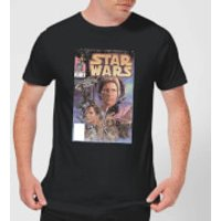 Star Wars Classic Comic Book Cover Mens T-Shirt - Black - M - Black