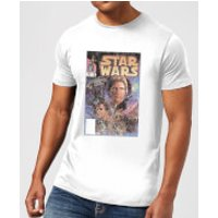 Star Wars Classic Comic Book Cover Men's T-Shirt - White - XXL - White
