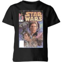 Star Wars Classic Comic Book Cover Kids' T-Shirt - Black - 3-4 Years - Black