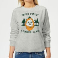 Star Wars Endor Camp Women's Sweatshirt - Grey - 4XL - Grey
