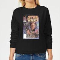 Star Wars Classic Comic Book Cover Women's Sweatshirt - Black - 3XL - Black