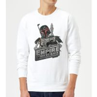 Star Wars Boba Fett Skeleton Sweatshirt - White - XL - White