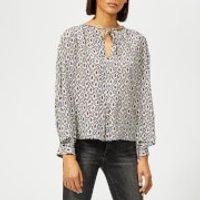 Isabel-Marant-Womens-Amba-Shirt-Blue-FR-36-Blue