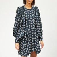 Isabel-Marant-Womens-Reone-Dress-Midnight-FR-38-Blue