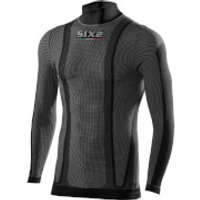SIXS TS3 Turtle Neck Base Layer - XS - Black