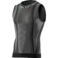 SIXS SMX Sleeveless Base Layer - XS - Black