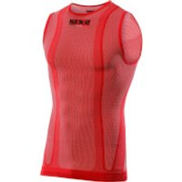 SIXS SMX Sleeveless Base Layer - XL - Red