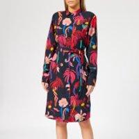 PS Paul Smith Women's Urban Jungle Shirt Dress - Multi - IT 40/UK 8 - Multi