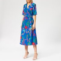 PS Paul Smith Women's Urban Jungle Wrap Dress - Muti - IT 40/UK 8 - Multi