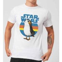 Image of Star Wars Porg Men's T-Shirt - White - XL - White