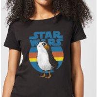 Star Wars Porg Women's T-Shirt - Black - XXL - Black