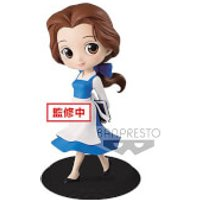Banpresto Q Posket Disney Beauty and the Beast Belle Country Style Figure 14cm (Normal Colour Version) - Princess Belle Gifts
